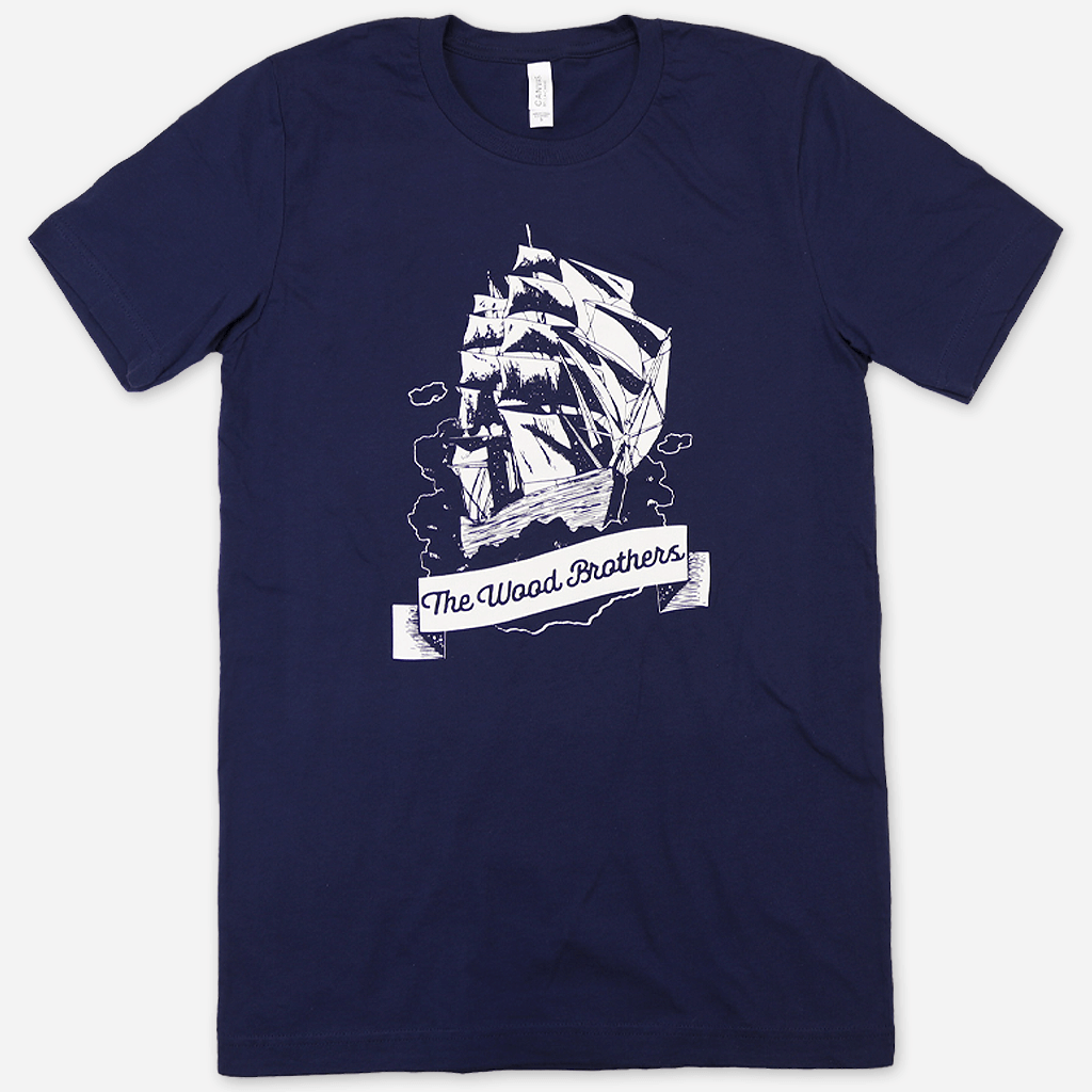 Ship Navy T-Shirt