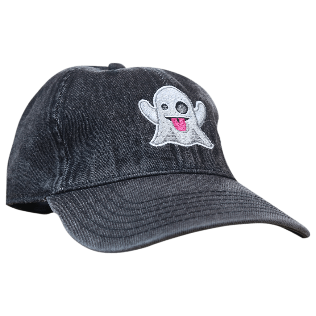 Ghost Emoji Dad Hat