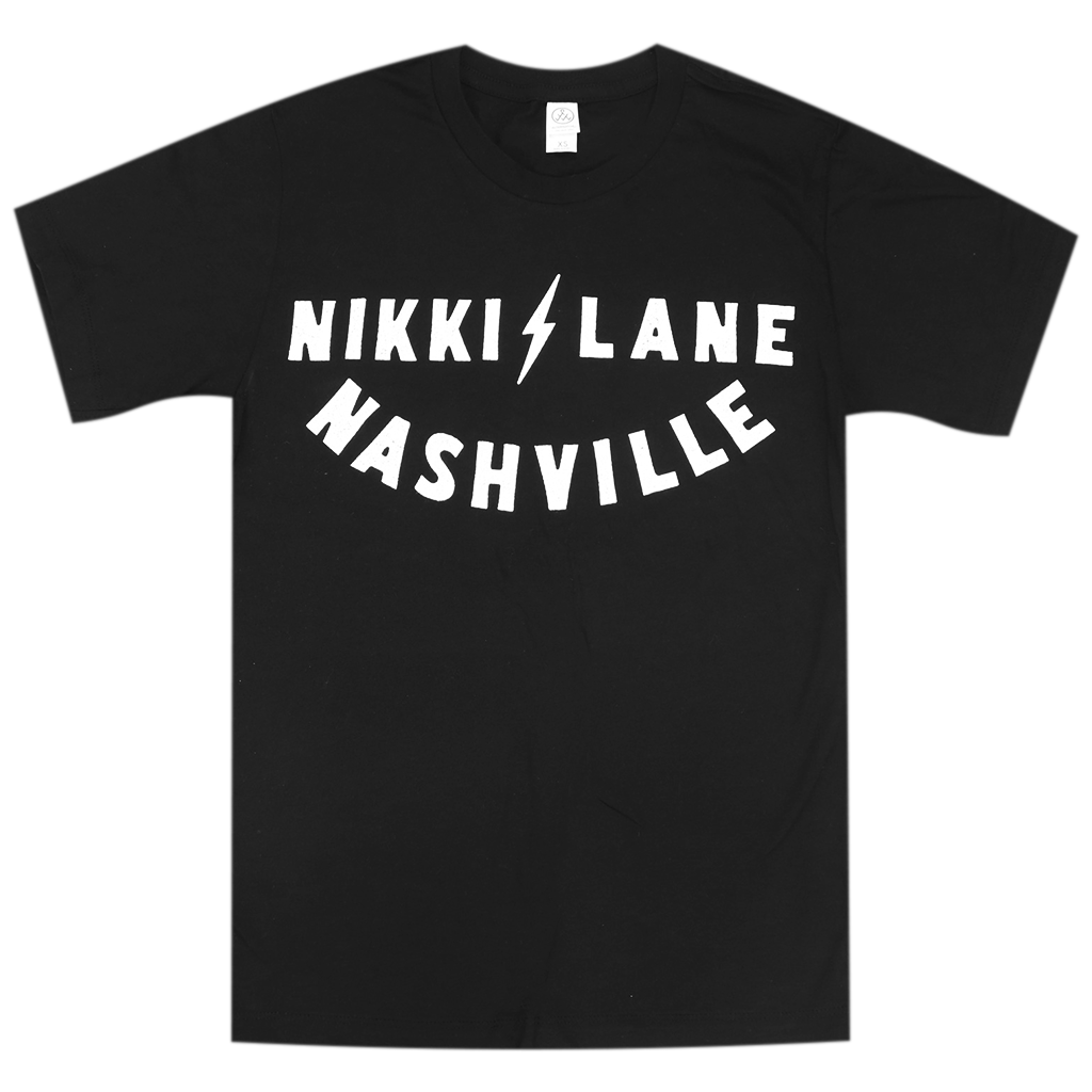 Nashville Unisex Black T-Shirt