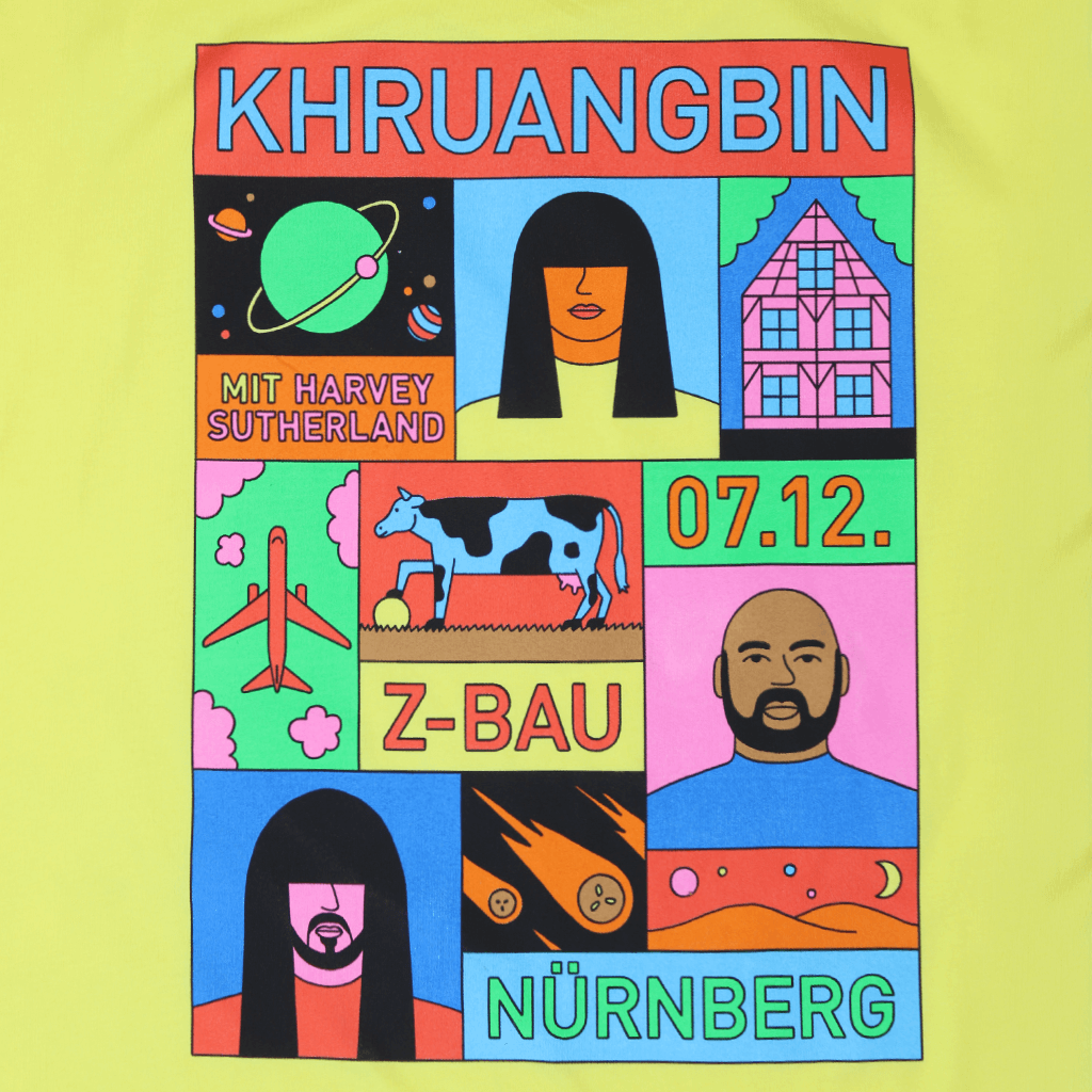 Nurnberg Yellow T-Shirt