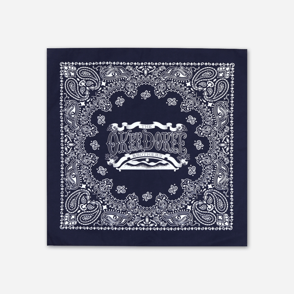 Okee Dokee Navy Bandana by The Okee Dokee Brothers for sale on hellomerch.com