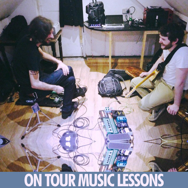 On Tour Music Lessons With Erin Burke-Moran - Caspian (Band) - Hello Merch