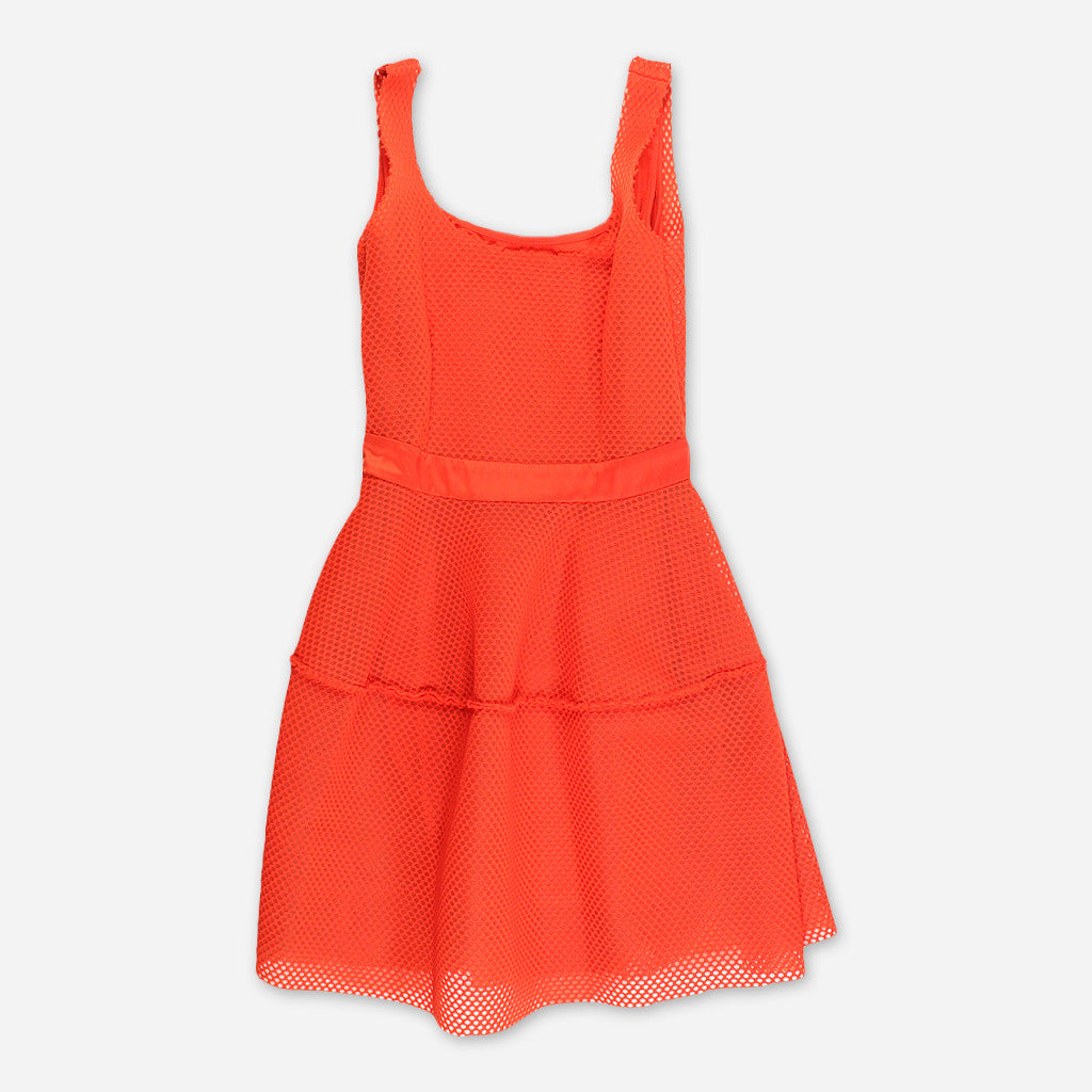 MAJE Bright Orange Dress