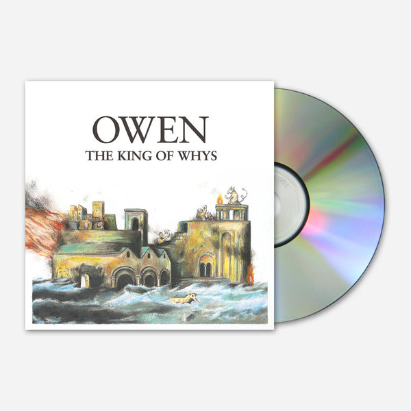 King Of Whys CD by Owen for sale on hellomerch.com