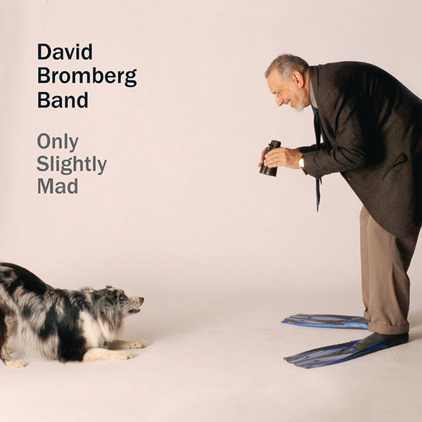 Only Slightly Mad CD by David Bromberg for sale on hellomerch.com