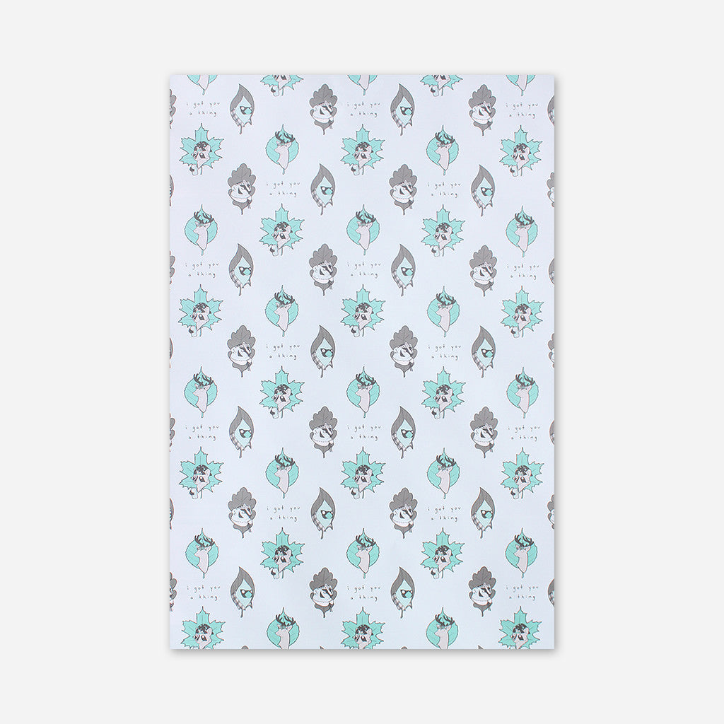 Queer Woodlands Wrapping Paper - Autostraddle - Hello Merch