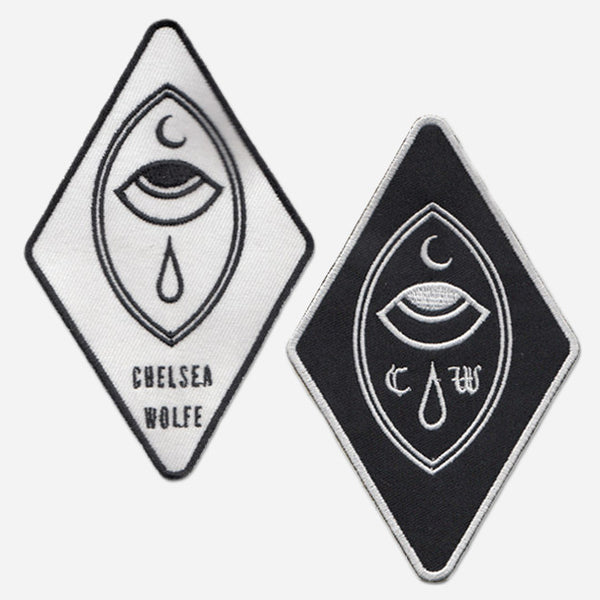 Crying Eye Black & White Patch Pack by Chelsea Wolfe for sale on hellomerch.com