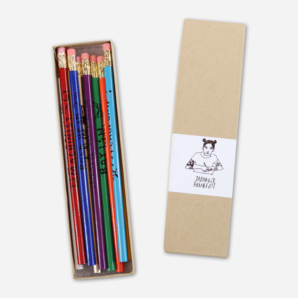 Pencil Set - Japanese Breakfast - Hello Merch