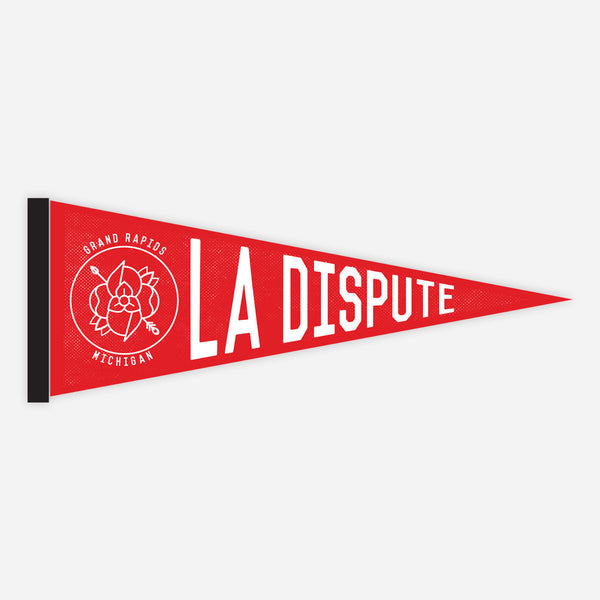 Red Pennant by La Dispute for sale on hellomerch.com