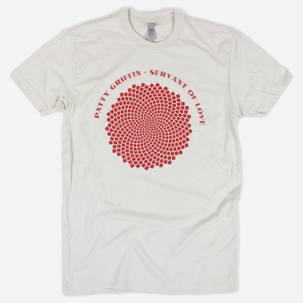 Servant Of Love Sand T-Shirt by Patty Griffin for sale on hellomerch.com