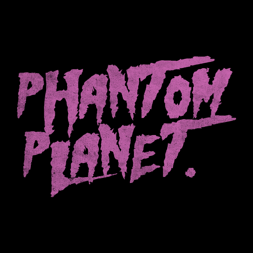Phantom Planet 2019 Tour Black T-Shirt