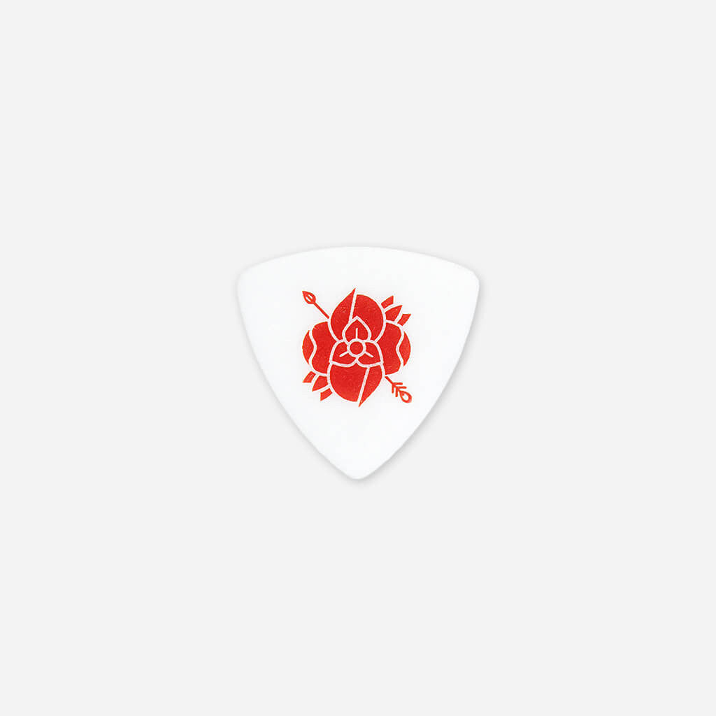 Flower Logo Guitar Pick