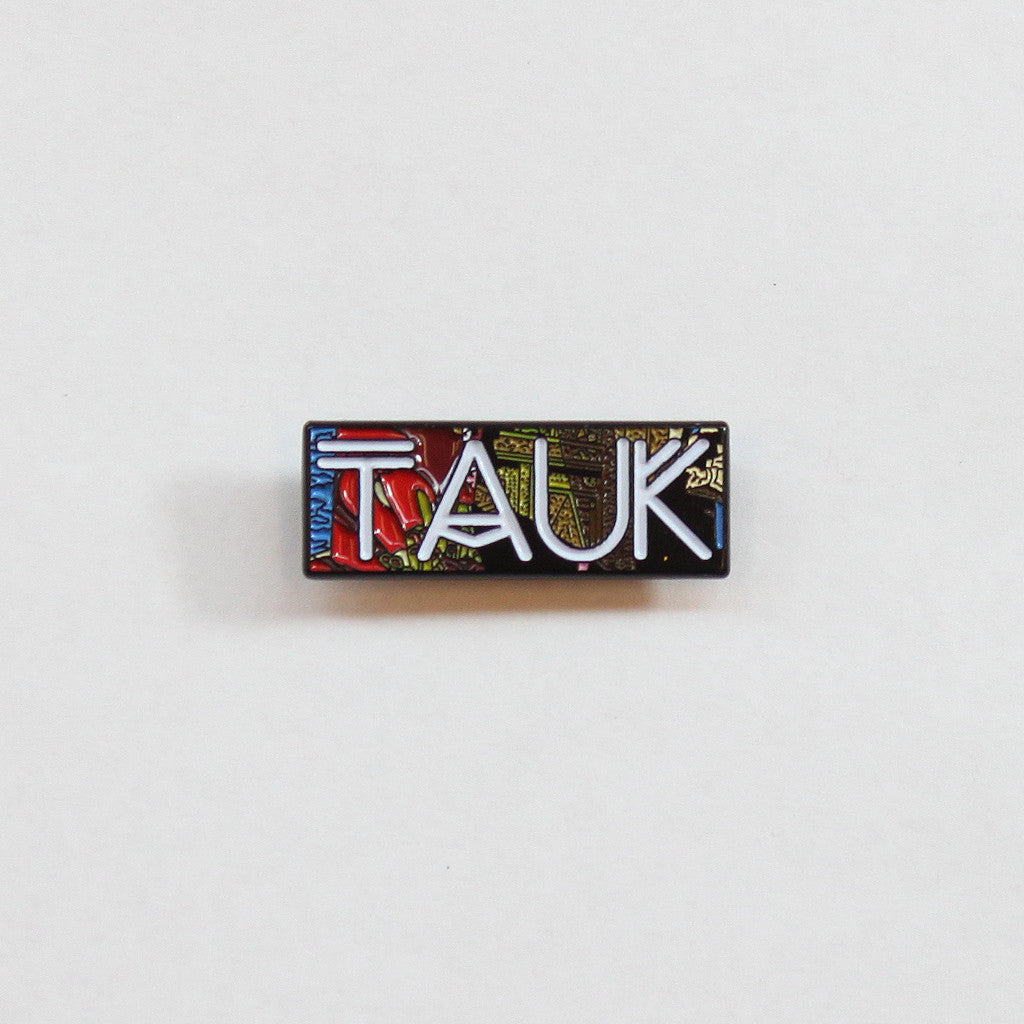 Collisions Pin - TAUK - Hello Merch
