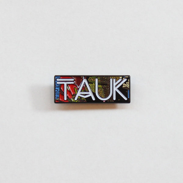 Collisions Pin by TAUK for sale on hellomerch.com