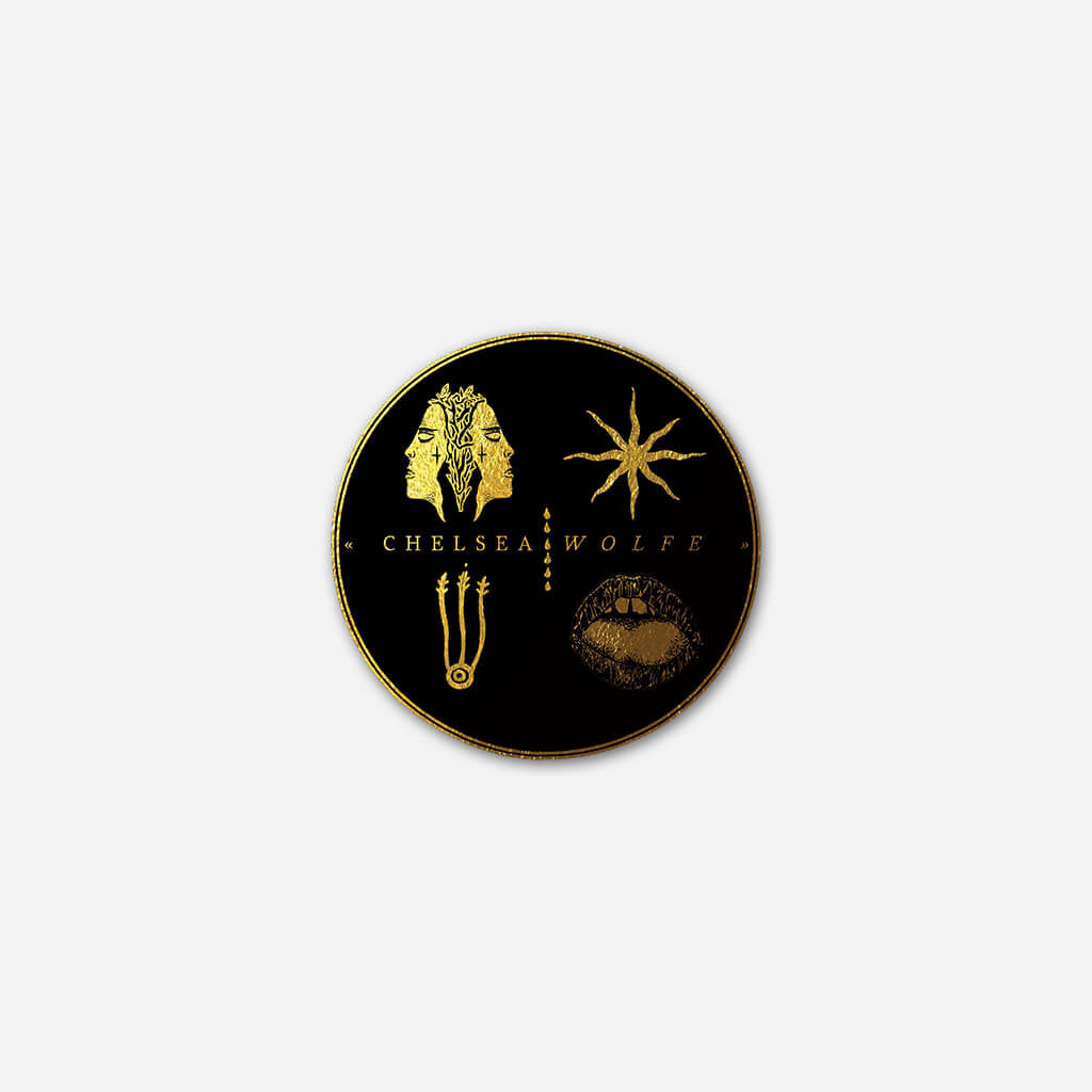Emblem Pin - Chelsea Wolfe - Hello Merch