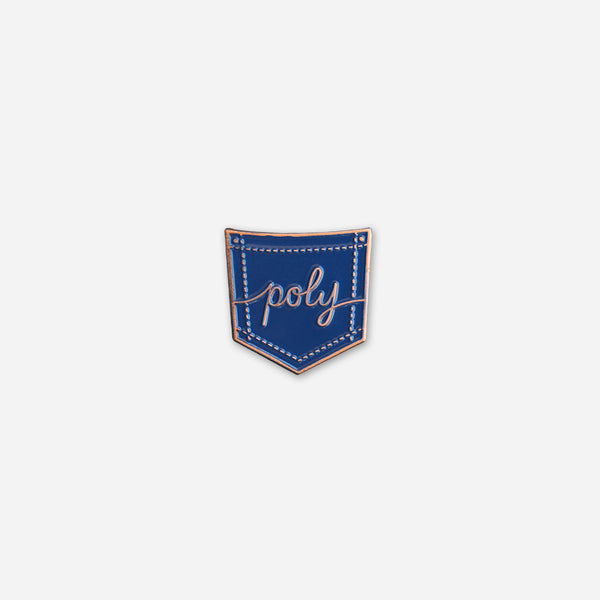 Poly Pin by Autostraddle for sale on hellomerch.com