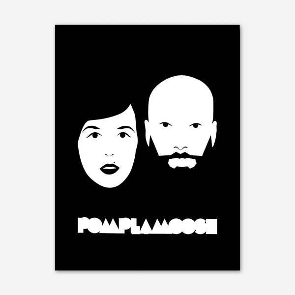 Iconic Poster by Pomplamoose for sale on hellomerch.com