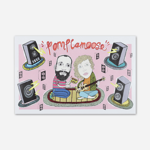 Jammin' Poster by Pomplamoose for sale on hellomerch.com