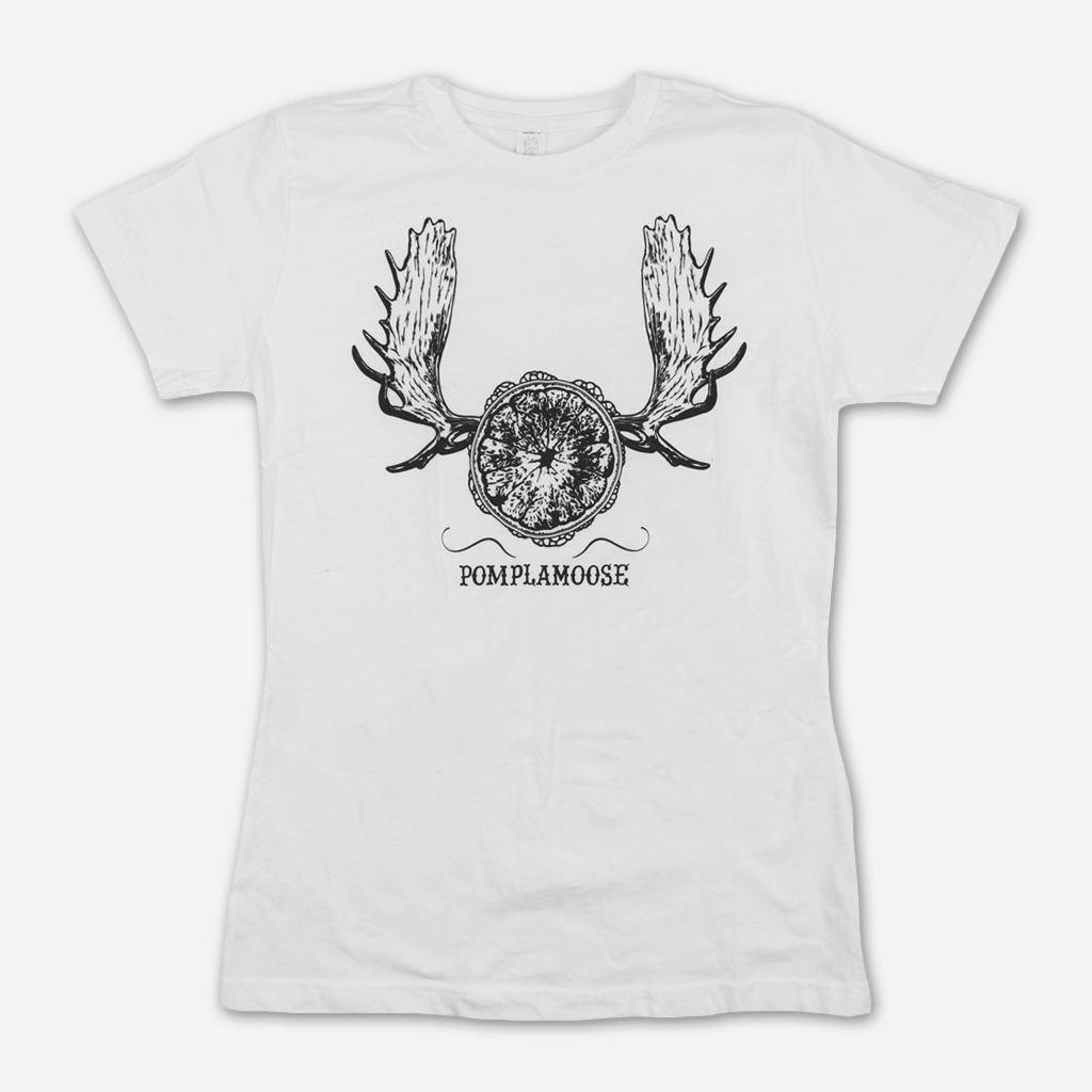 Moosehorn Women's White T-Shirt