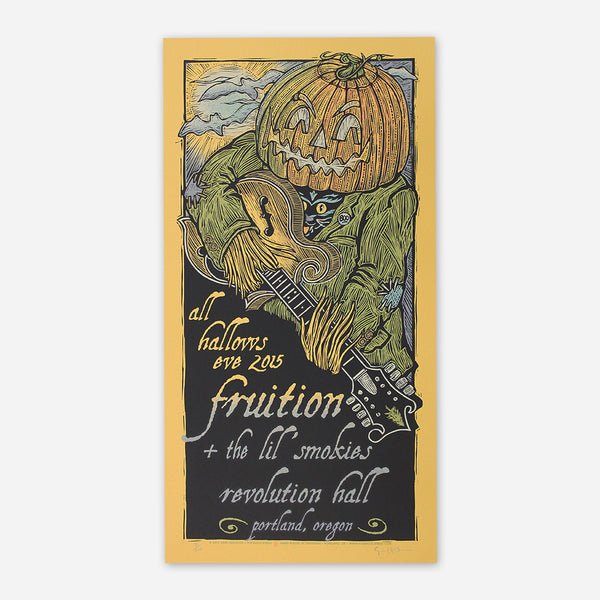 All Hallows Eve 2015 Poster by Fruition for sale on hellomerch.com