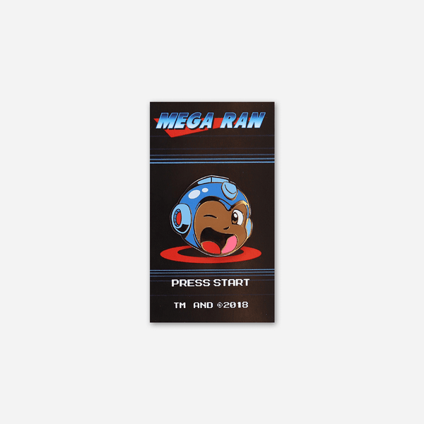 Press Start Pin by Mega Ran for sale on hellomerch.com