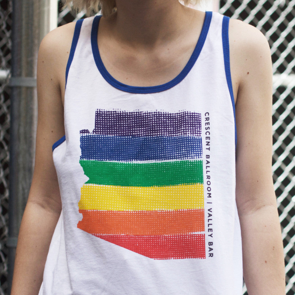 Arizona Pride White/True Royal Tank Top