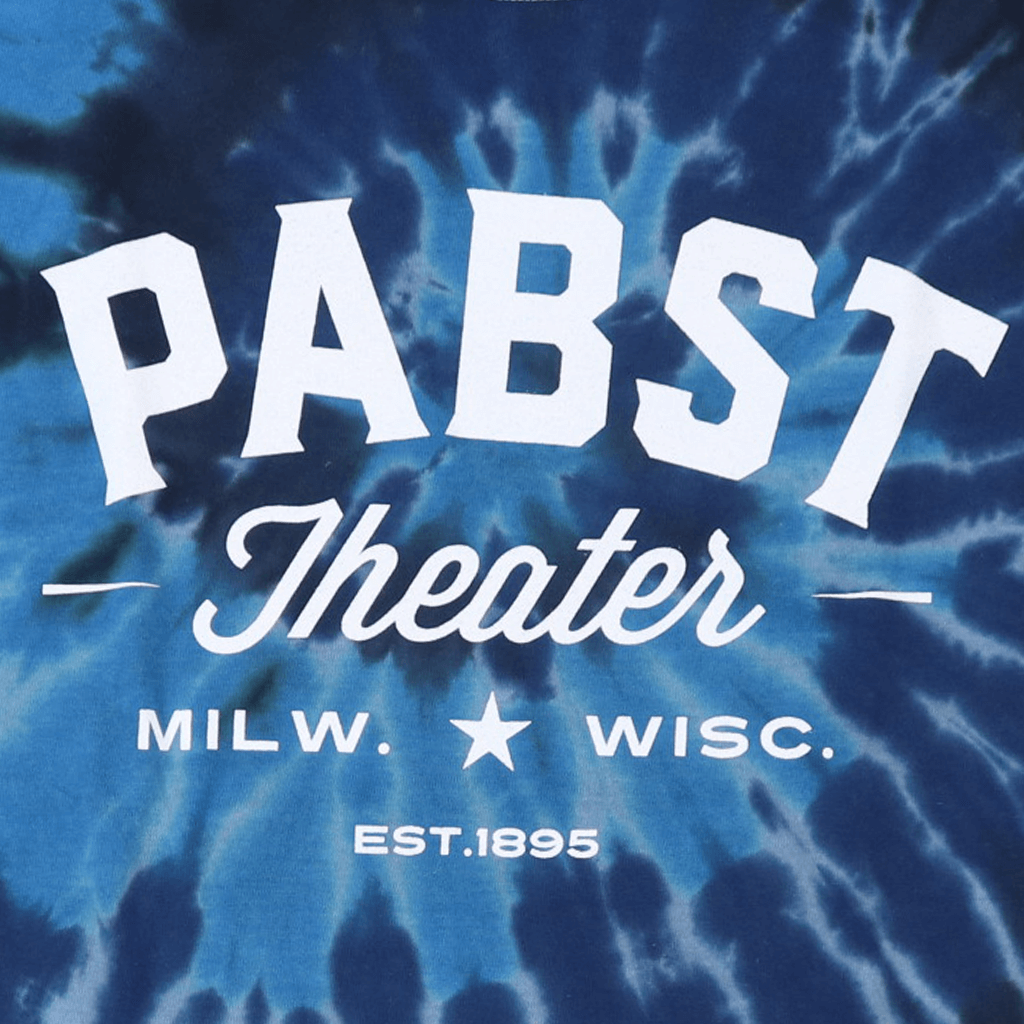 Pabst Theater Deep Sea Tie Dye T-Shirt