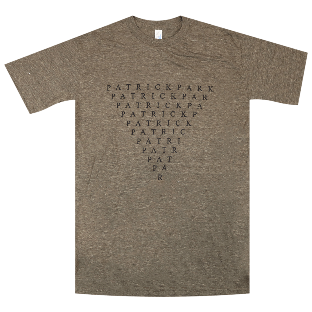 Triangle Heather Brown Triblend T-Shirt
