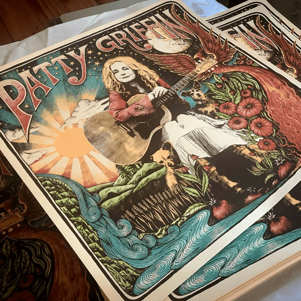 Self Titled Album Poster - Patty Griffin - Hello Merch