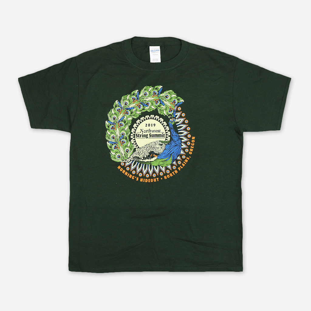 Peacock Youth Green T-Shirt
