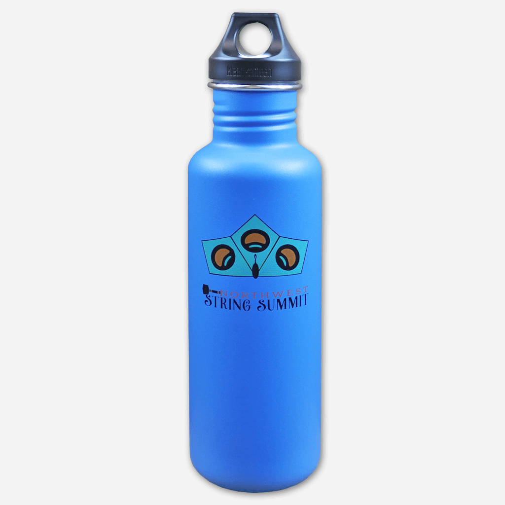 Peacock Blue Water Bottle