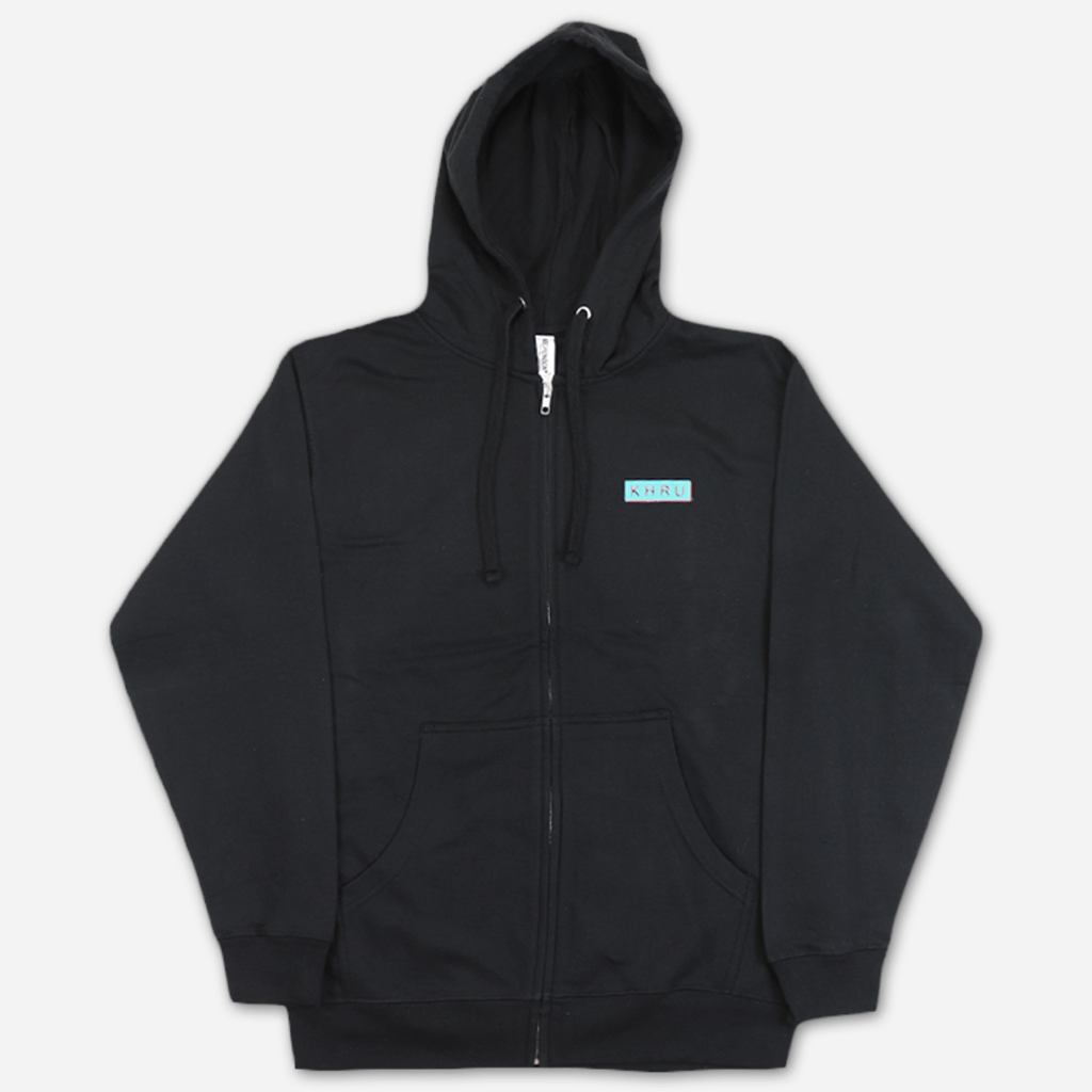 Plane Black Zip Hoodie - Khruangbin - Hello Merch