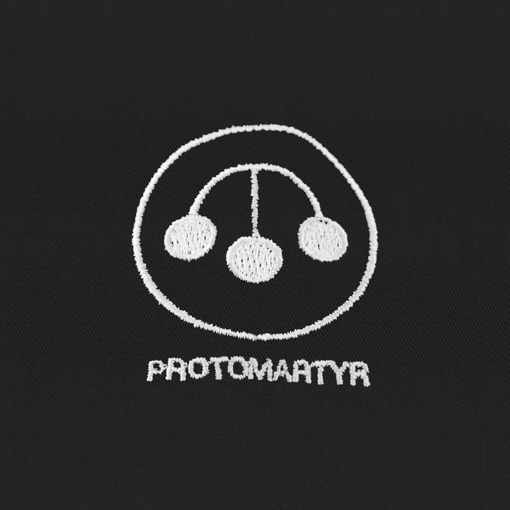 Protomartyr Pawn Black Dad Hat
