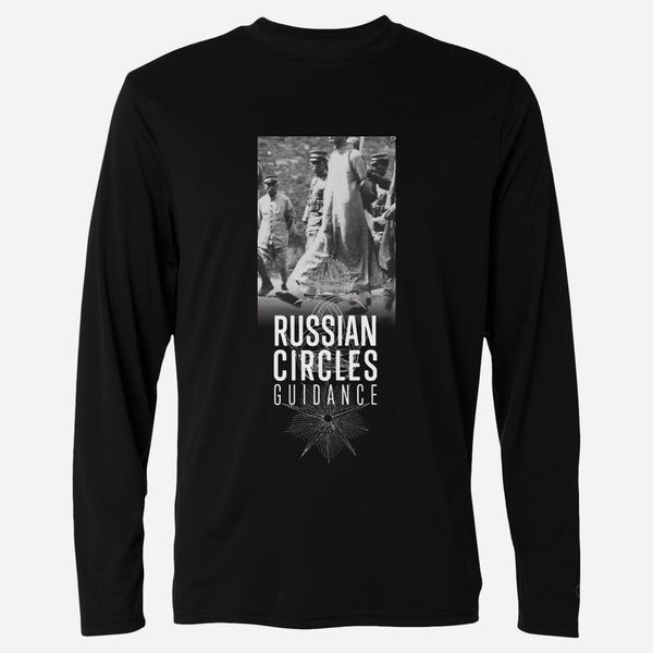 Guidance Black Long Sleeve T-Shirt by Russian Circles for sale on hellomerch.com
