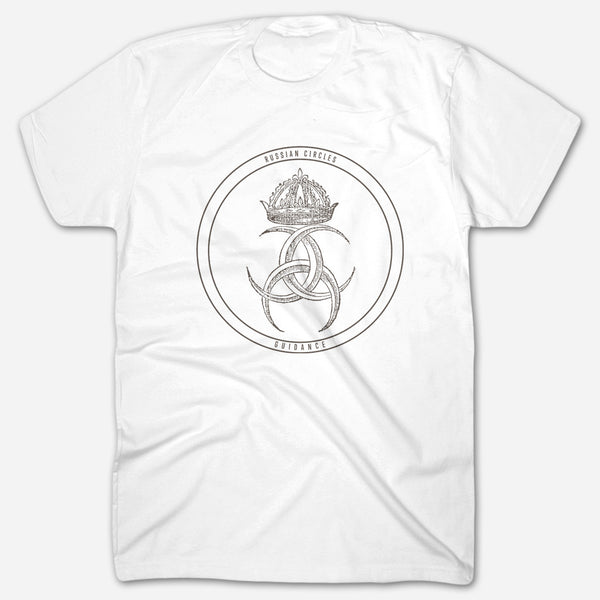 Guidance White T-Shirt by Russian Circles for sale on hellomerch.com