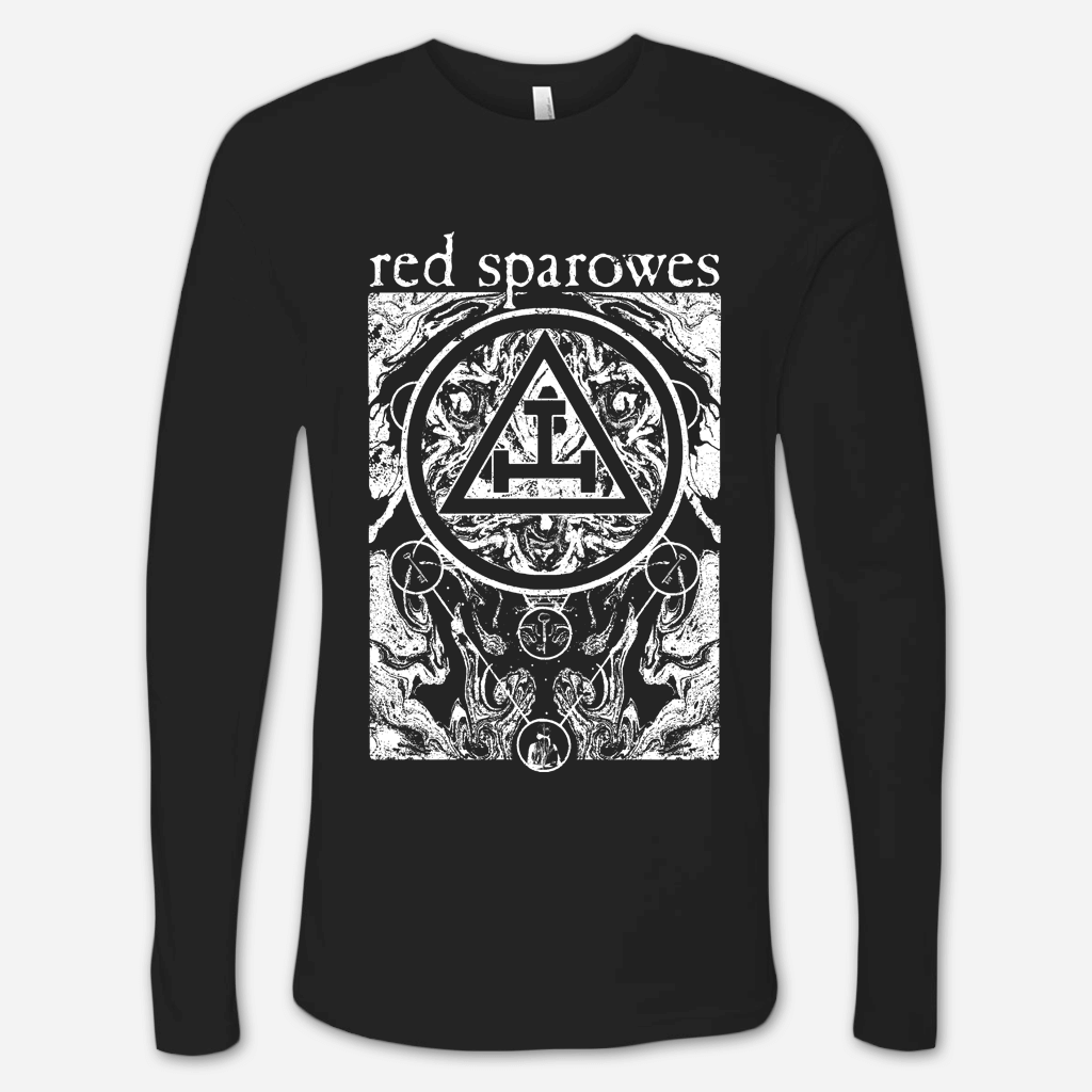 Circles Black Long Sleeve T-Shirt