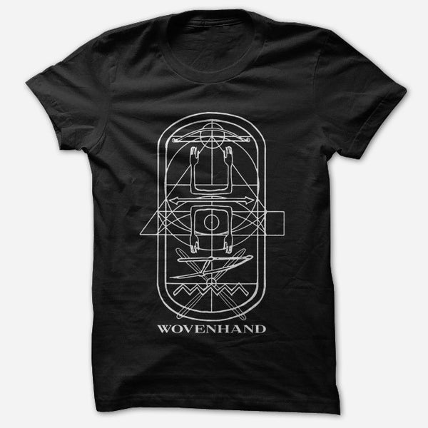 Refractory Obdurate Black T-Shirt by Wovenhand for sale on hellomerch.com