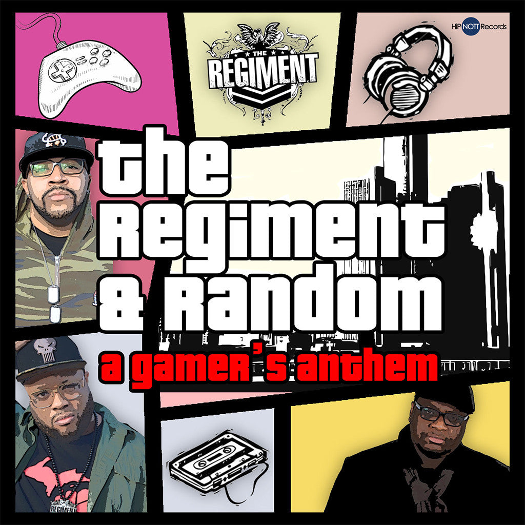 The Regiment & Random: A Gamer's Anthem CD - Mega Ran - Hello Merch