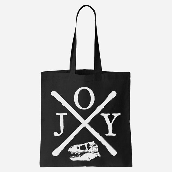Hardcore Rex Black Tote by Jenny Owen Youngs for sale on hellomerch.com