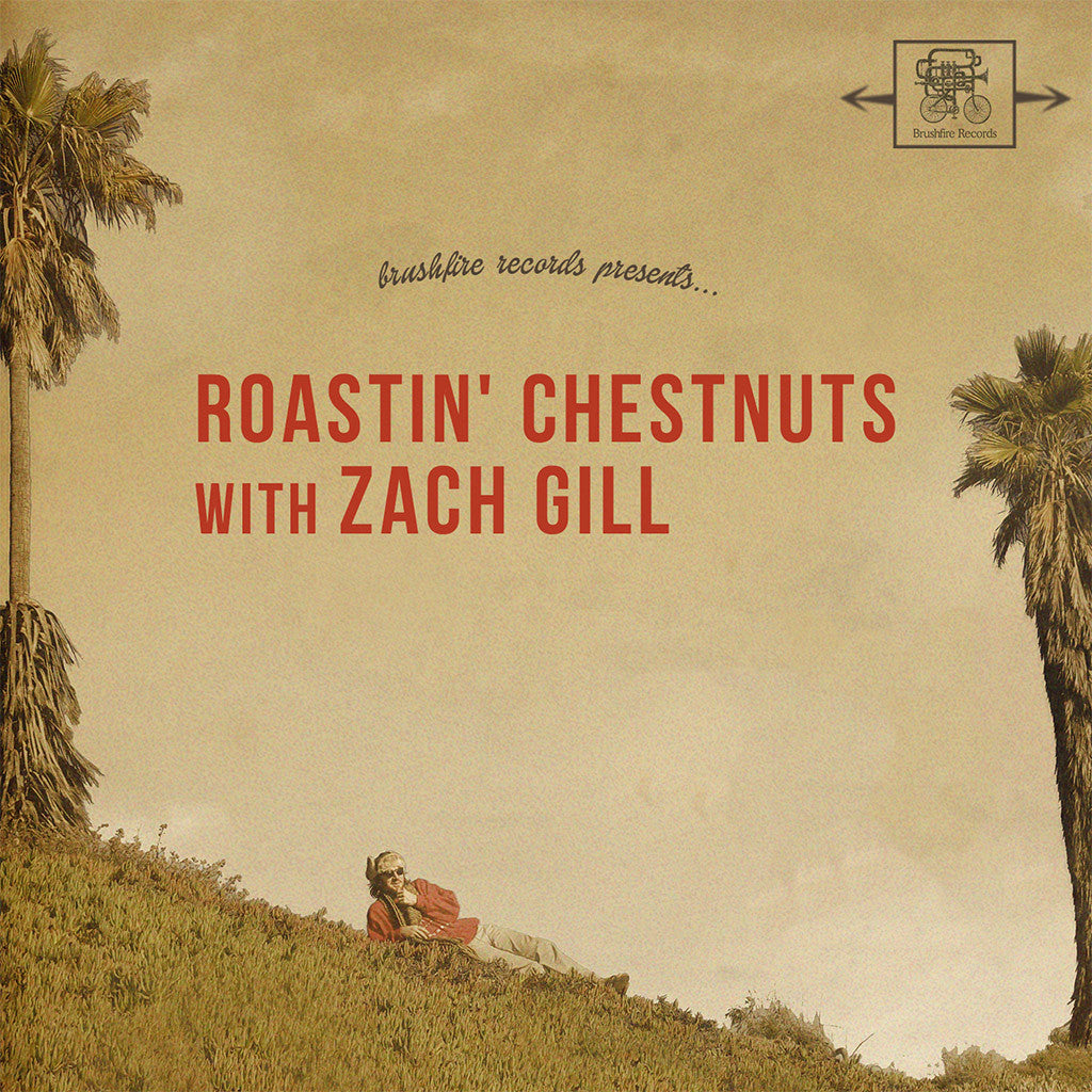 Roastin' Chestnuts With Zach Gill CD - Zach Gill - Hello Merch