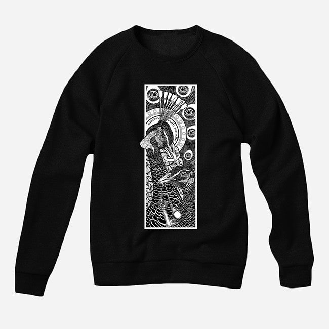 Peacocks Black Crew Neck Pullover Sweatshirt