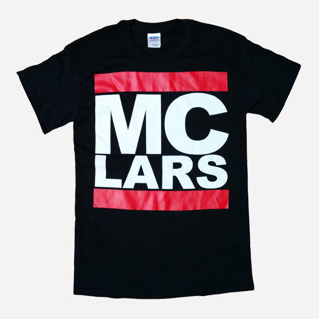 """RUN MC LARS"" Black T-Shirt"