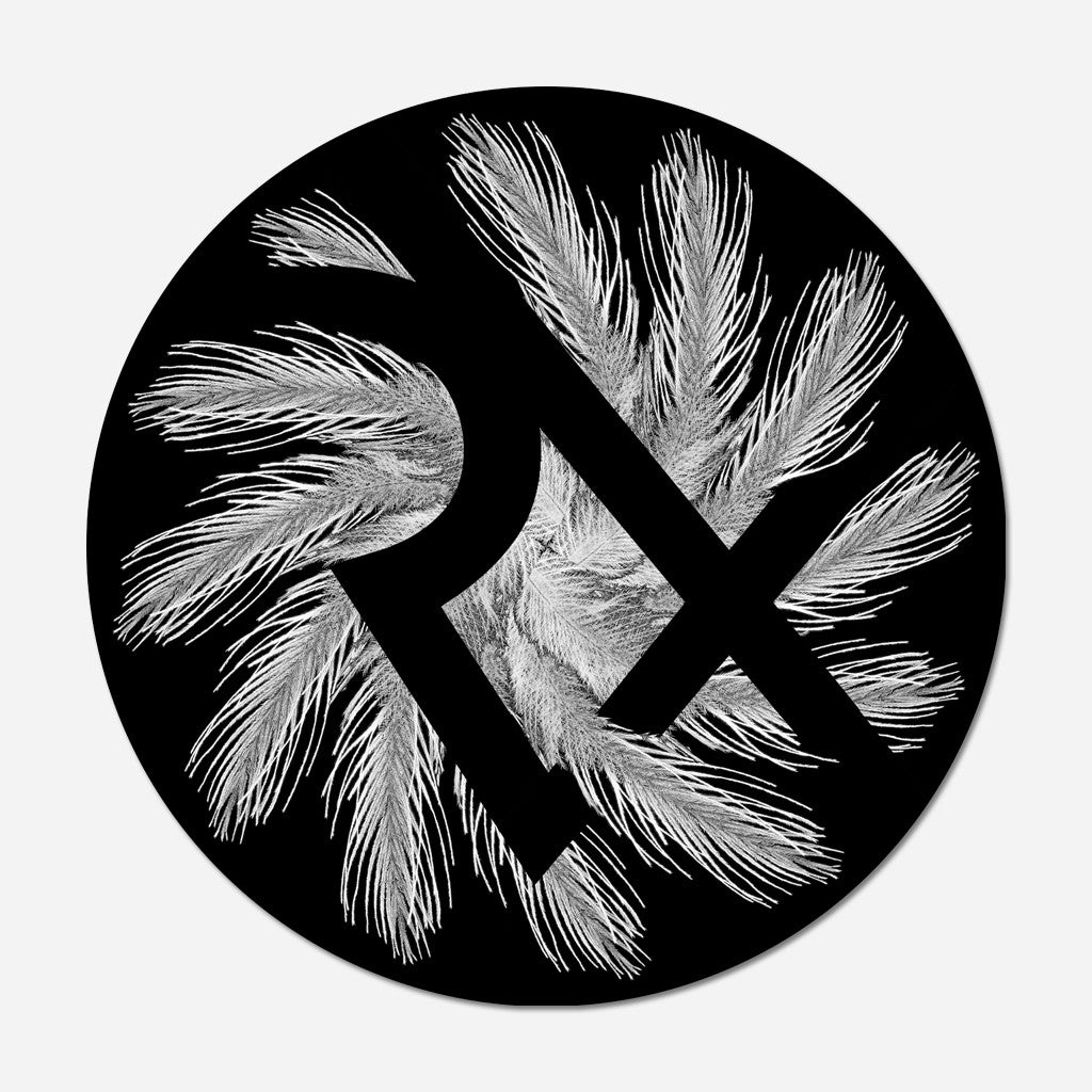 RXB Feather Logo Sticker