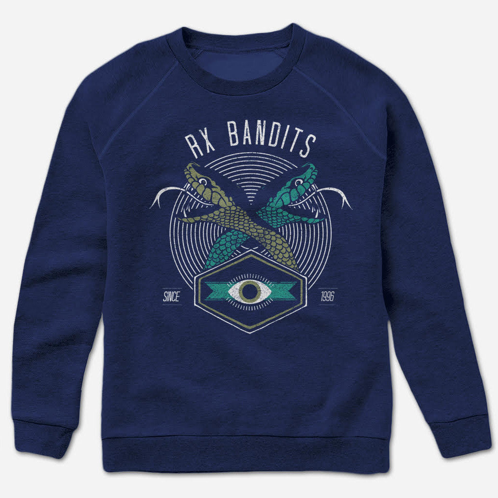 RXB Snakes Navy Pullover Sweatshirt