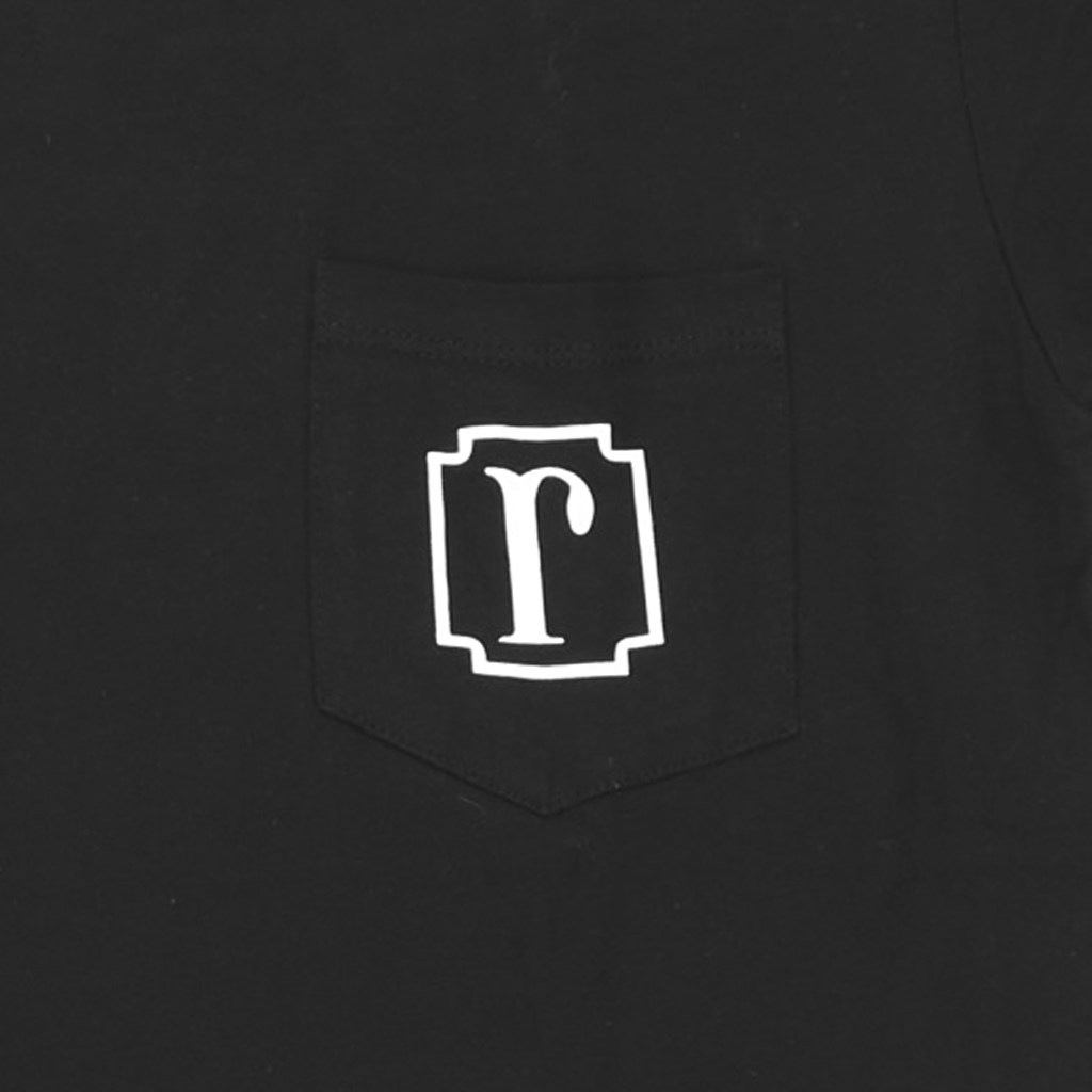 Icon Black Pocket T-Shirt
