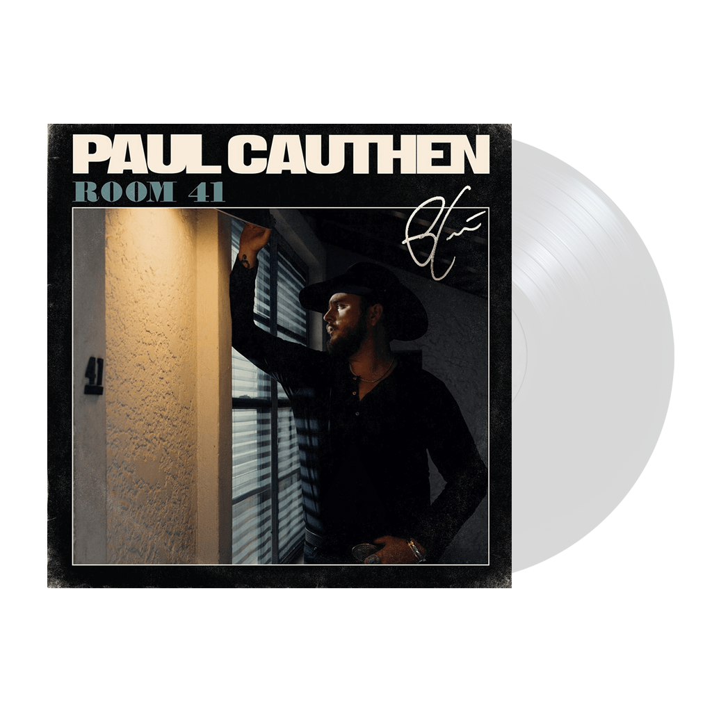 Signed Room 41 White Vinyl