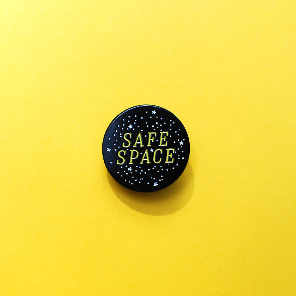 Safe Space Pin - Autostraddle - Hello Merch