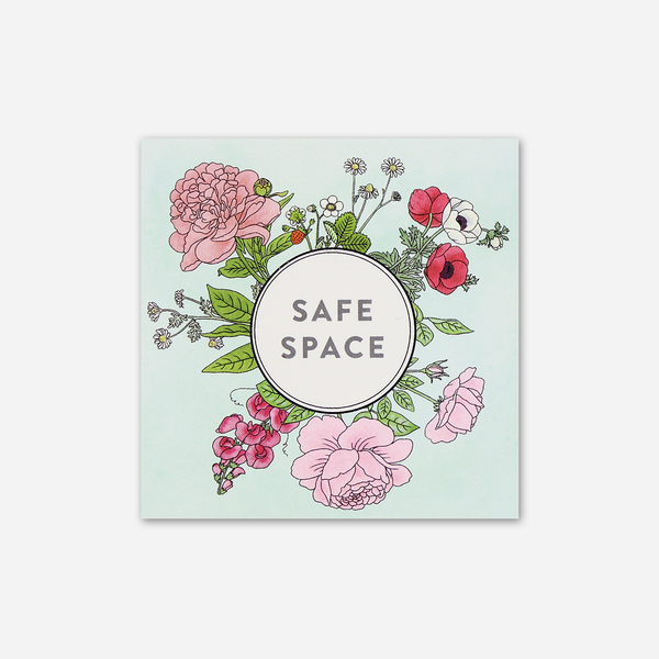 Safe Space Sticker by Gay Stuff, By Kristin for sale on hellomerch.com