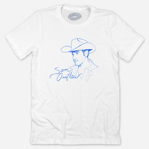 Pacific Blue T-Shirt by Sam Outlaw for sale on hellomerch.com