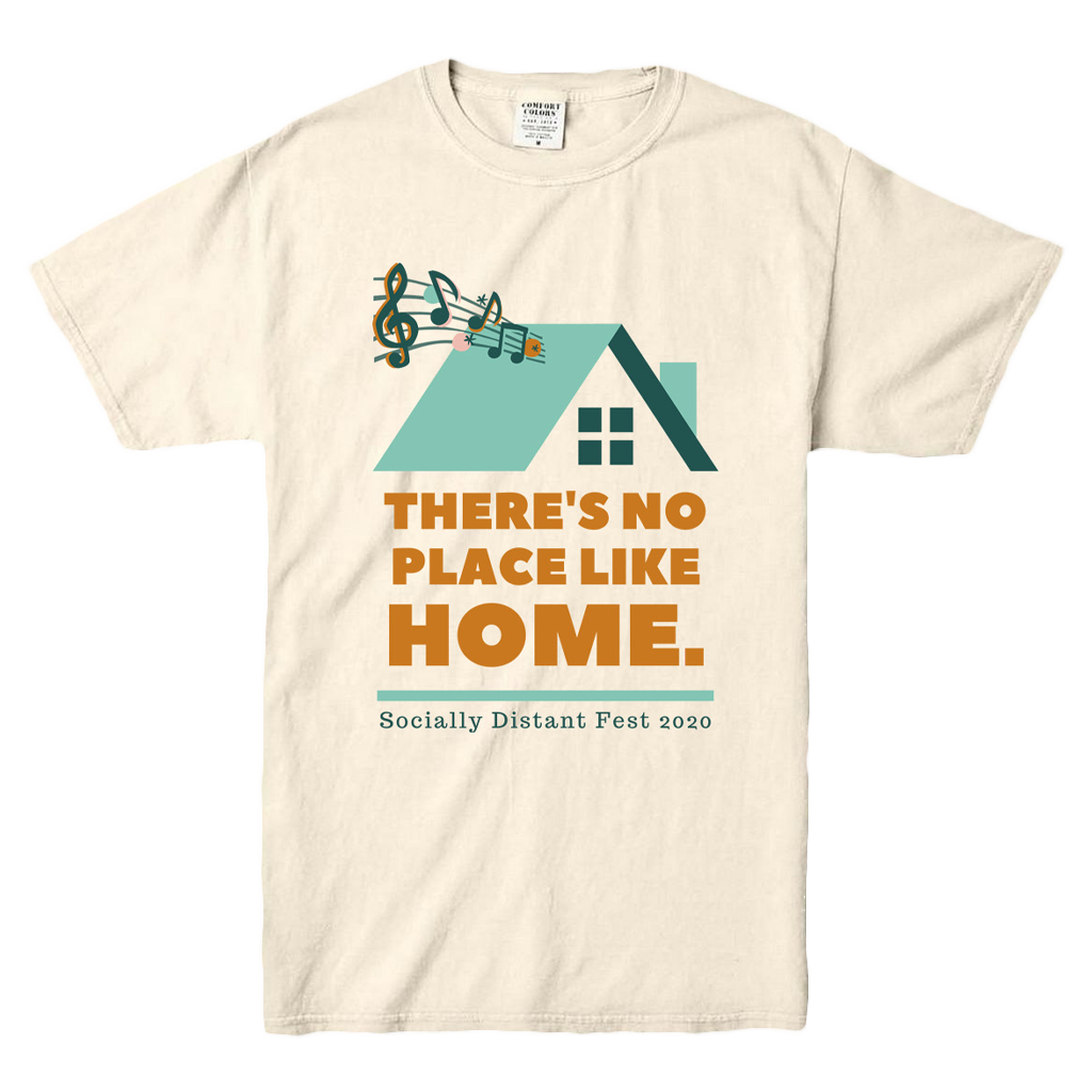 There's No Place Like Home Ivory T-Shirt